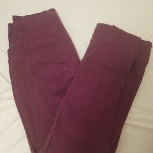 Gloria Vanderbilt Marron jeans
